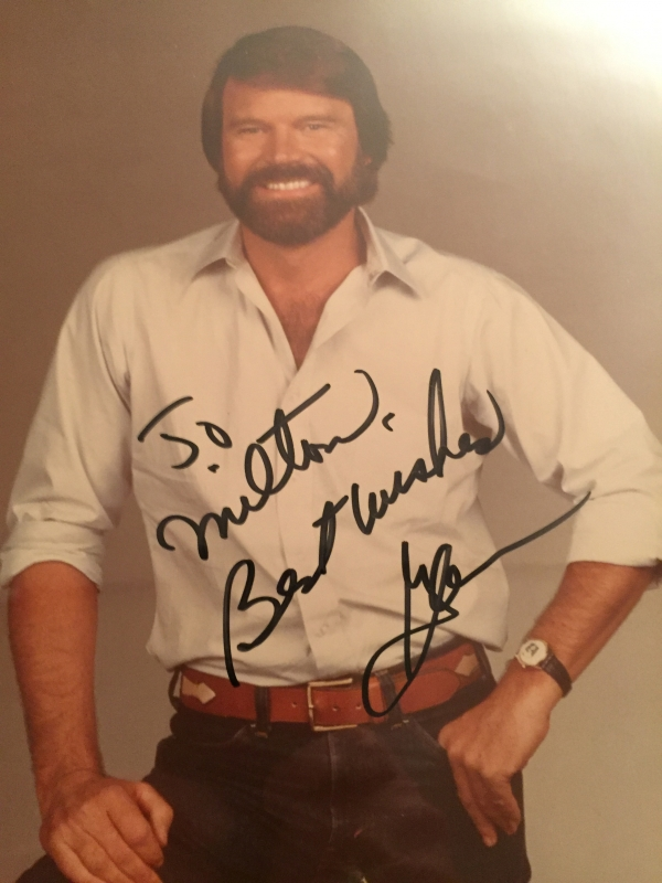 Glen Campbell sang our title song to Clint's